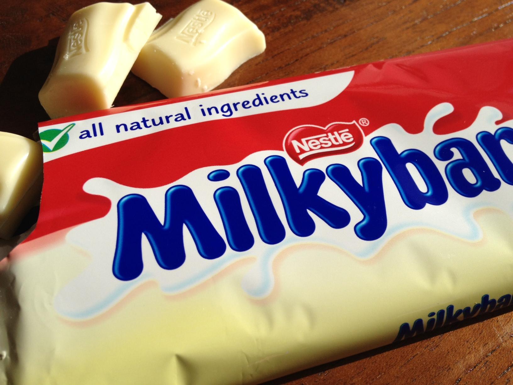 nestle milky bar chocolate - photo #5